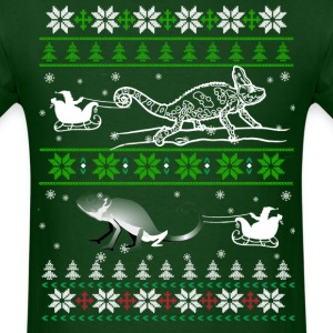 Reptiles Christmas T shirt - Men's T-Shirt