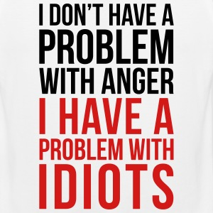 Problem With Idiots Funny Quote Sportswear - Men's Premium Tank