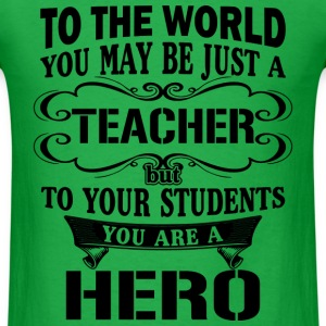 Gift for teacher - Teaching hero - Men's T-Shirt