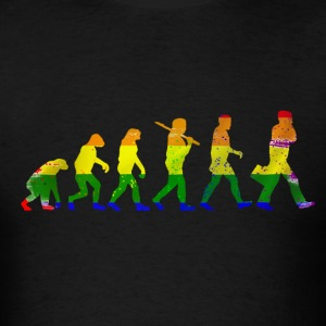 LGBT evolution - Men's T-Shirt