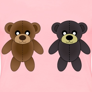 Plush bears - Women's Premium T-Shirt
