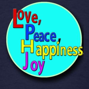 Love, Peace, Happiness, Joy - Men's T-Shirt