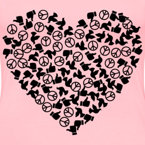 Give Peace As Many Chances As It Needs - Women's Premium T-Shirt