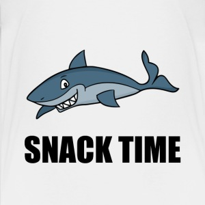 Snack Time Shark - Kids' Premium T-Shirt
