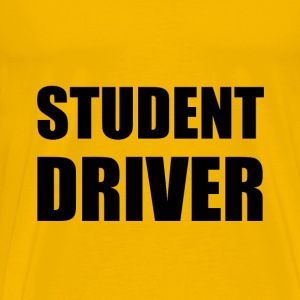 Student Driver Caution - Men's Premium T-Shirt