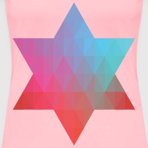 Geometric Star V - Women's Premium T-Shirt