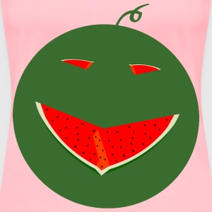 watermelonface - Women's Premium T-Shirt