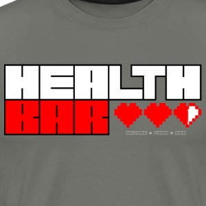 Health Bar T-Shirts - Men's Premium T-Shirt