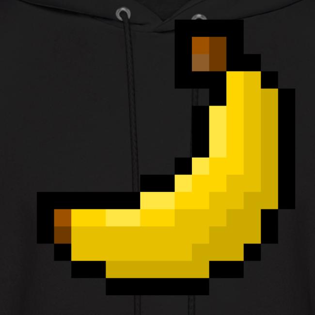 TacticalBanana7 8-Bit Banana Men's Hoodie