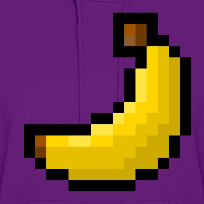 TacticalBanana7 8-Bit Banana Women's Hoodie