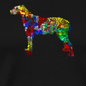 Irish Wolfhound Tshirt - Men's Premium T-Shirt