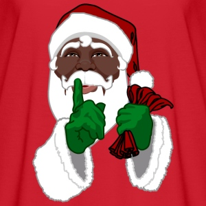 African Santa Clause Shirts Women's Christmas Shir - Women's Flowy T-Shirt