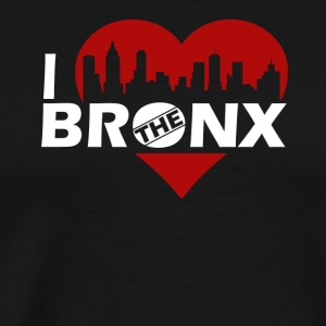 I Love The Bronx Shirt - Men's Premium T-Shirt