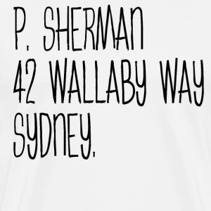P. Sherman 42 Wallaby Way Sydney T-Shirts - Men's Premium T-Shirt