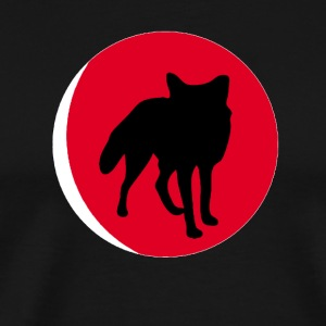At the Foot of Fox moon - Men's Premium T-Shirt