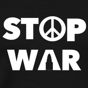 STOP WAR - Men's Premium T-Shirt