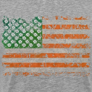 Irish States Of Lucky America  - Men's Premium T-Shirt