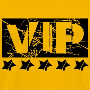 Scratches gold star cool vip logo design lines lin T-Shirts - Men's Premium T-Shirt