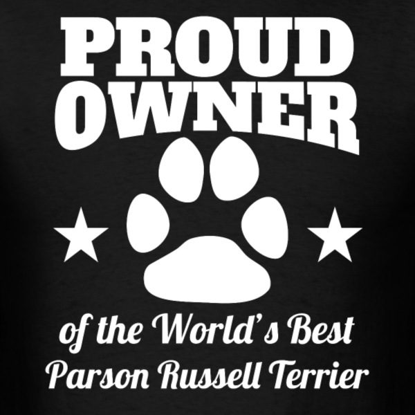 Owner Of The World's Best Parson Russell Terrier - Men's T-Shirt