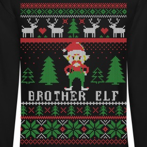 Brother Elf Long Sleeve Shirts - Crewneck Sweatshirt
