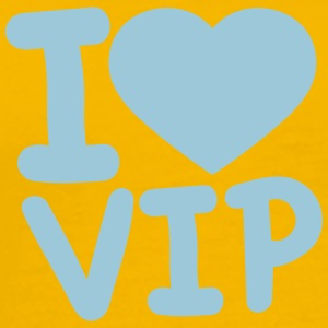I love log heart love vip text shirt cool design l T-Shirts - Men's Premium T-Shirt