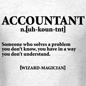 ACCOUNTANT NOUN T-Shirts - Men's T-Shirt