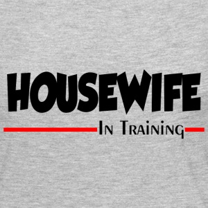 HOUSEWIFE IN TRAINING Long Sleeve Shirts - Women's Premium Long Sleeve T-Shirt