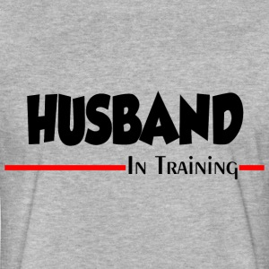 HUSBAND IN TRAINING T-Shirts - Fitted Cotton/Poly T-Shirt by Next Level