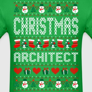 Christmas Architect Ugly Sweater T Shirt T-Shirts - Men's T-Shirt