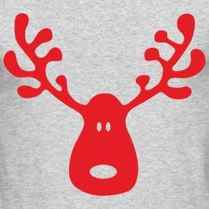 Reindeer Long Sleeve Shirts - Men's Long Sleeve T-Shirt by Next Level