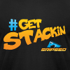 #GetStackin Classic - Men's T-Shirt by American Apparel