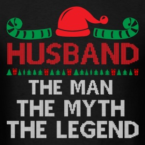 Husband-The Man The Myth The Legend T-Shirts - Men's T-Shirt