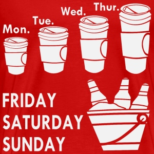 Coffee Week & Beer Weekend  - Men's Premium T-Shirt