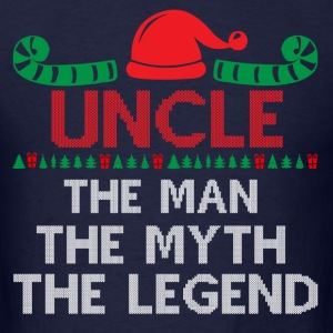 Uncle-The Man The Myth The Legend T-Shirts - Men's T-Shirt