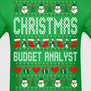 Christmas Budget Analyst Ugly Sweater T Shirt T-Shirts - Men's T-Shirt