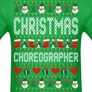 Christmas Choreographer Ugly Sweater T Shirt T-Shirts - Men's T-Shirt