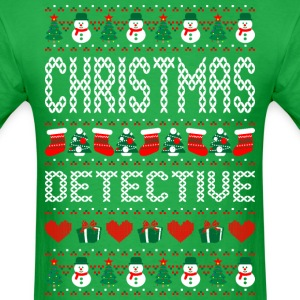 Christmas Detective Ugly Sweater T Shirt T-Shirts - Men's T-Shirt