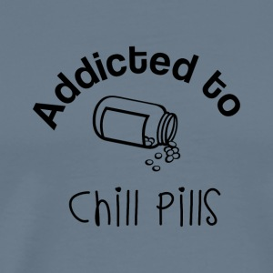 Addicted to Chill Pills Mechandise - Men's Premium T-Shirt