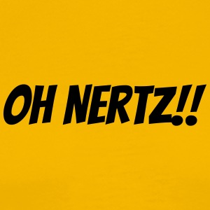 Oh Nertz! - Men's Premium T-Shirt