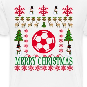 foot_ball_merry_christmas_ - Men's Premium T-Shirt