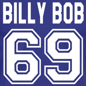 Billy Bob 69 - Varsity Blues T-Shirts - Men's Premium T-Shirt