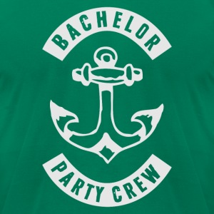 Bachelor Party Crew Patch T-Shirts - Men's T-Shirt by American Apparel