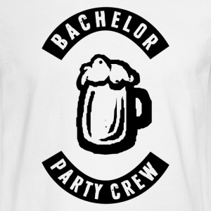 Bachelor Party Crew Patch Long Sleeve Shirts - Men's Long Sleeve T-Shirt