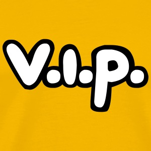 Blue vertical pattern scratch cool vip logo design T-Shirts - Men's Premium T-Shirt