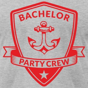 Bachelor Party Crew Emblem T-Shirts - Men's T-Shirt by American Apparel
