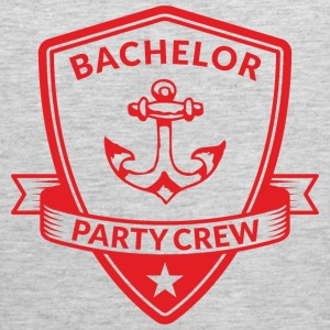 Bachelor Party Crew Emblem Sportswear - Men's Premium Tank