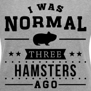 Normal Three Hamsters Ago T-Shirts - Women´s Rolled Sleeve Boxy T-Shirt