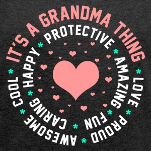 It's a Grandma Thing T-Shirts - Women´s Rolled Sleeve Boxy T-Shirt