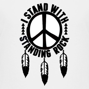 I Stand With Standing Rock - Kids' Premium T-Shirt