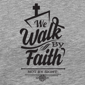 Faith Walkers - Men's Premium T-Shirt